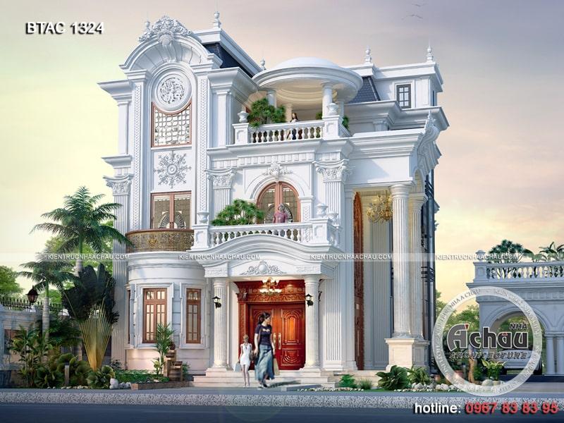 Hình ảnh: Mẫu nhà biệt thự 3 tầng ở Hà Nam