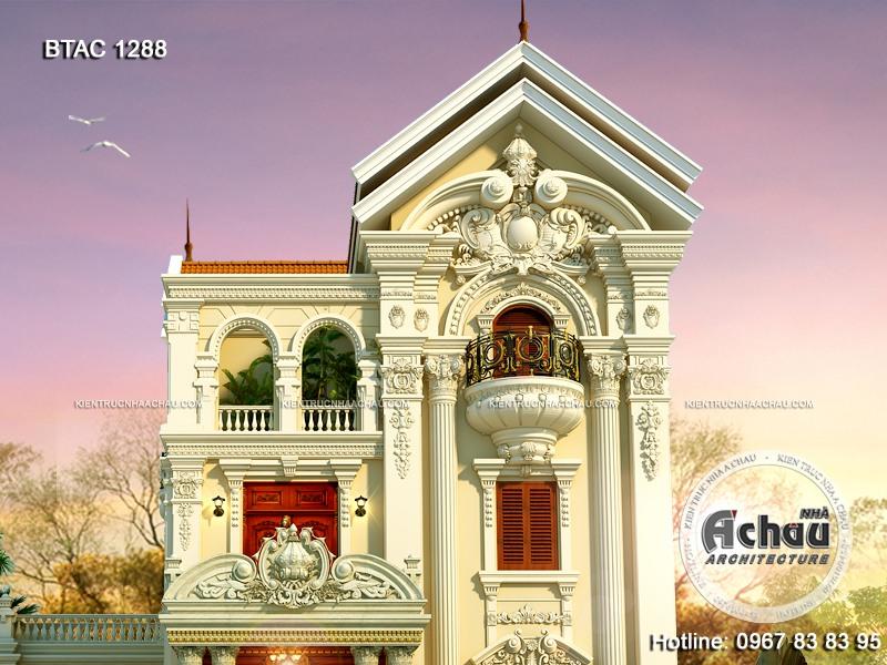 mẫu nhà biệt thự 3 tầng đẹp