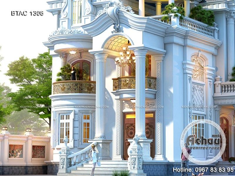 biệt thự cổ điển 3 tầng