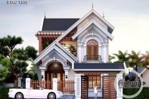 Nhà 2 tầng mái Thái đẹp - BTAC 1335