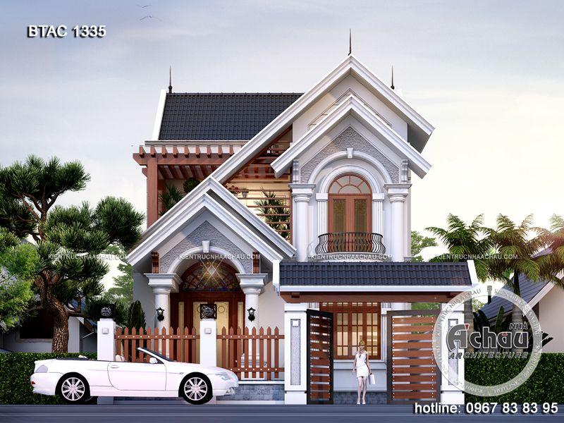 Nhà 2 tầng mái Thái đẹp – BTAC 1335