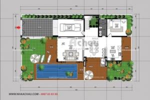 Bản vẽ thiết kế nhà - biệt thự hiện đại đẹp