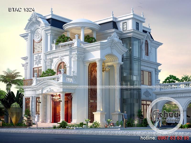 biệt thự tân cổ điển đẹp ở Hà Nam
