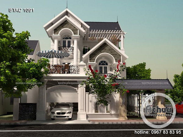 Mặt tiền nhà đẹp
