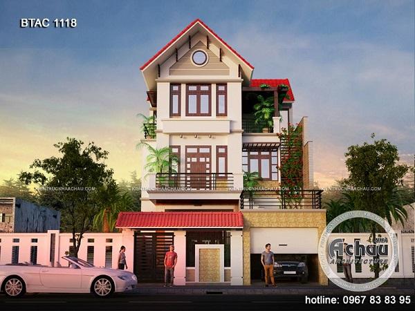 mẫu nhà đẹp 3 tầng