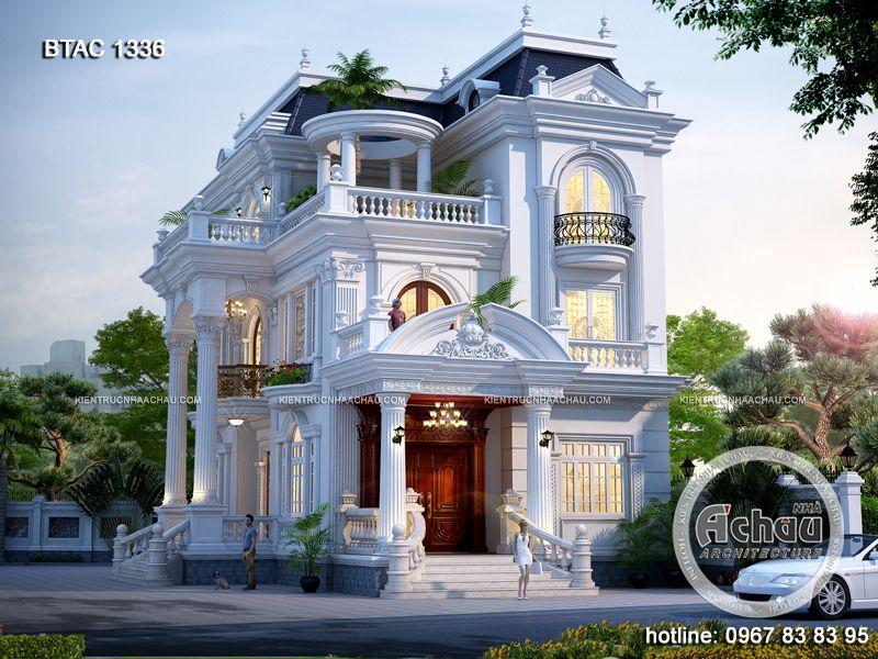 Mẫu Biệt Thự 3 Tầng Đẹp Hút Hồn ở Nghệ An – BTAC1336
