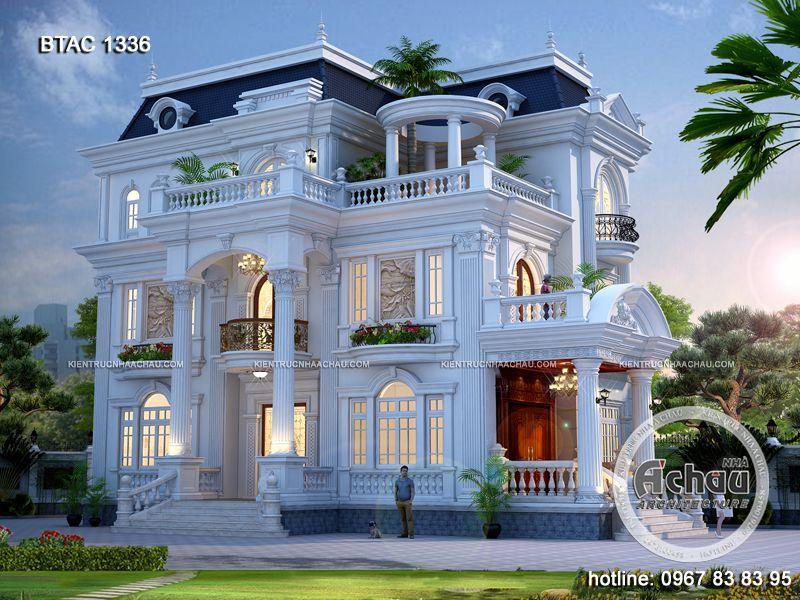 biệt thự 3 tầng đẹp