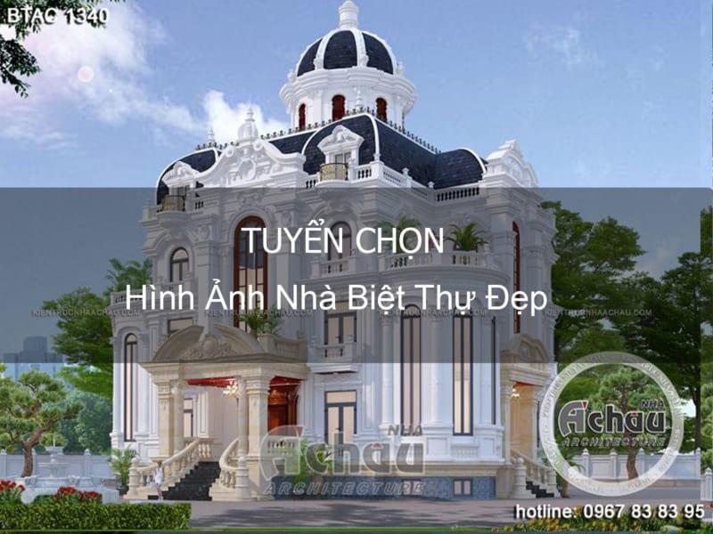 Hình Ảnh Nhà Biệt Thự Đẹp – Kiến trúc Nhà Á Châu