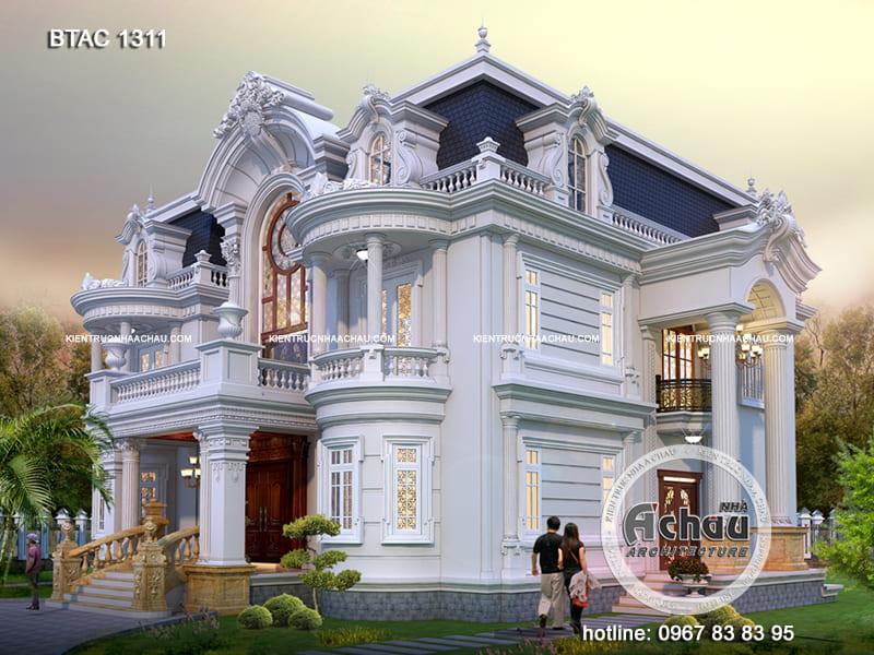 Mẫu thiết kế nhà biệt thự