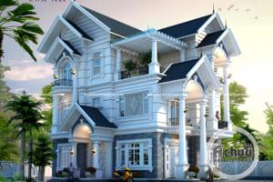 Chiêm ngưỡng những mẫu thiết kế nhà 3 tầng đẹp - BTAC 1309