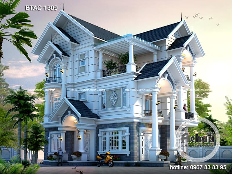 Chiêm ngưỡng những mẫu thiết kế nhà 3 tầng đẹp – BTAC 1309