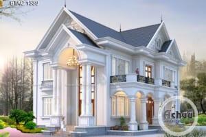 Thiết kế nhà đẹp 2 tầng - Mẫu biệt thự BTAC 1339