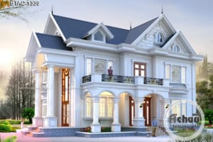 nhà mái thái 2 tầng