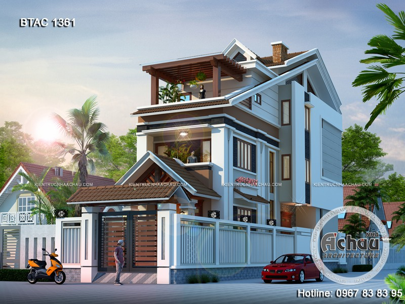Tổng hợp mẫu thiết kế nhà phố ấn tượng