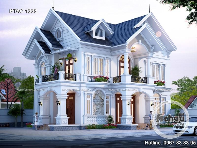 Thiết kế nhà đẹp – Các mẫu nhà 2 tầng đẹp bắt mắt