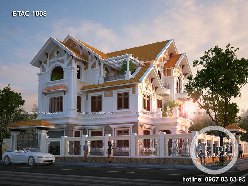 thiết kế nhà biệt thự 3 tầng hiện đại đẹp