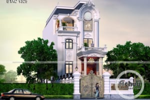 Kiến trúc nhà đẹp - Nhà phố tân cổ điển BTAC 1325