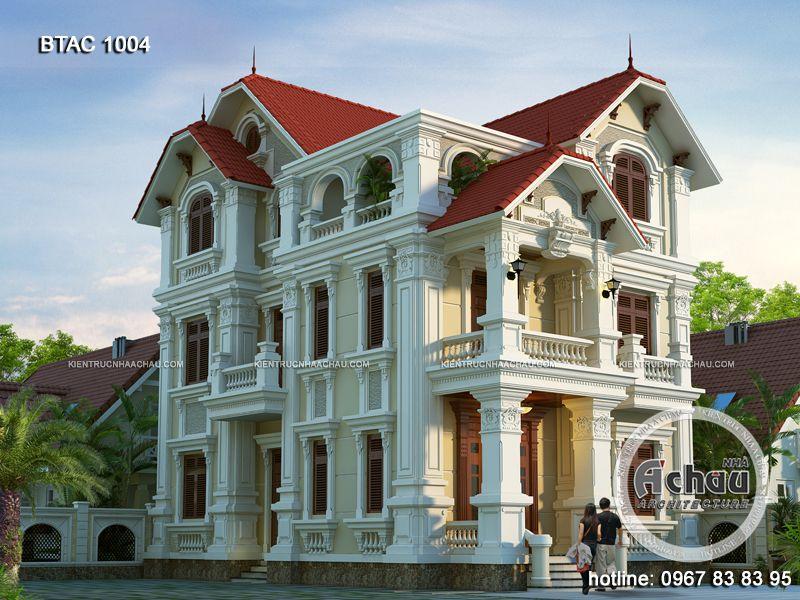 thiết kế mẫu nhà đẹp 3 tầng