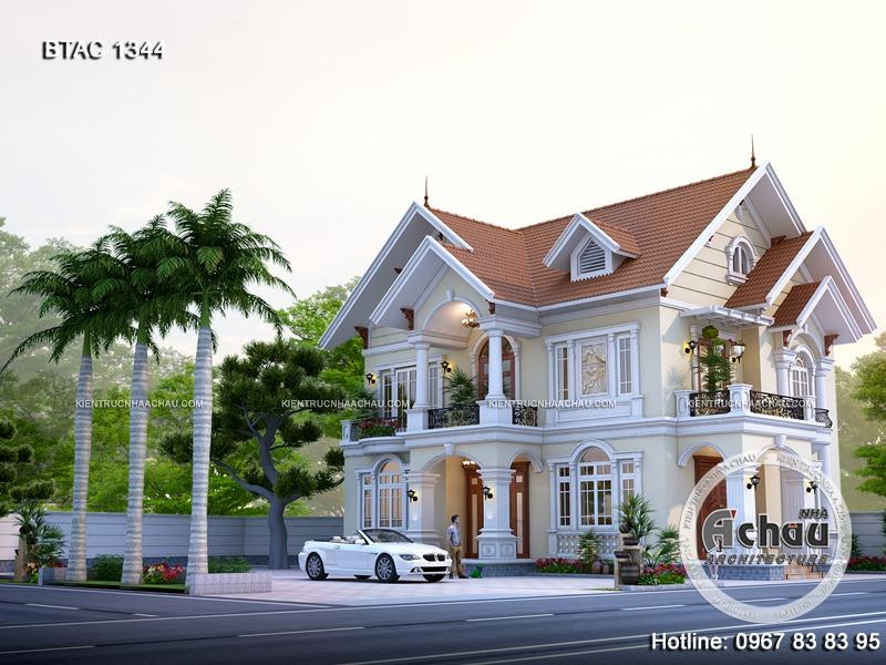 nhà đẹp 2 tầng