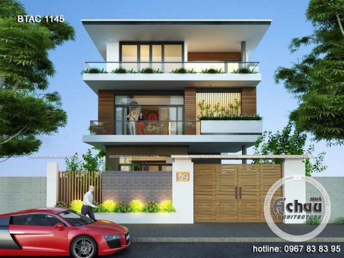Thiết kế nhà phố 2 mặt tiền – 04 lý do nhất định phải biết khi xây dựng