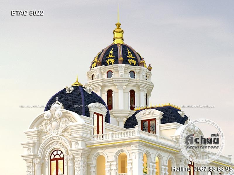 Mẫu nhà biệt thự kiểu Pháp, mẫu thiết kế nhà đẹp