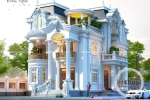 Biệt thự 3 tầng tân cổ điển – Xu hướng của thời đại mới