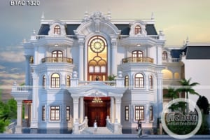 kiến trúc biệt thự 3 tầng 1320