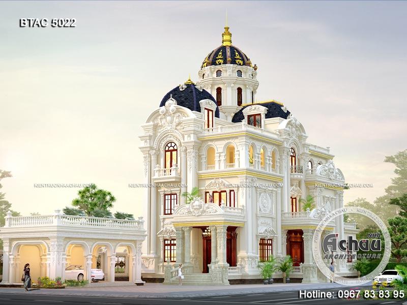 Mẫu Lâu Đài Đẹp – Ngôi nhà của sự đẳng cấp – BTAC 5022