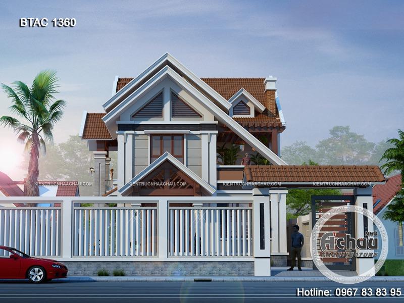 nhà đẹp 2 mặt tiền 1360