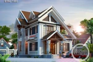 nhà 2 mặt tiền mái thái 1360