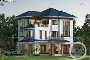 Đắm chìm trong hình ảnh mẫu thiết kế nhà 3 tầng đẹp tuyệt mỹ - BTAC 1349