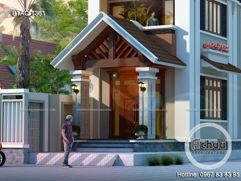 những ngôi nhà đẹp với thiết kế mái thái, biệt thự hiện đại