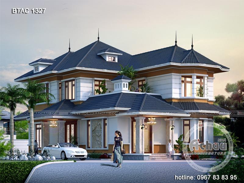 Các mẫu thiết kế nhà biệt thự 2 tầng hiện đại đẹp – Thiết kế biệt thự tại Hà Giang