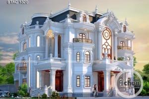 thiết kế biệt thự đẹp 1320