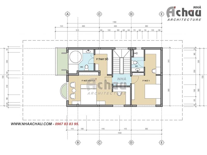 các mẫu nhà 2 tầng đơn giản