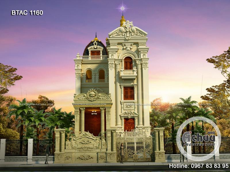 mẫu biệt thự cổ điển
