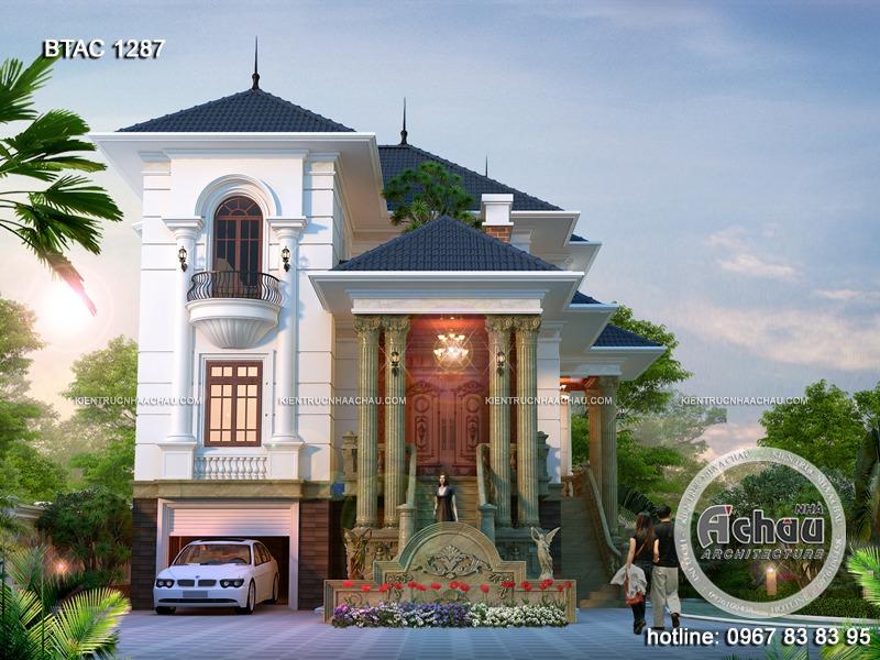 biệt thự tân cổ điển 1287