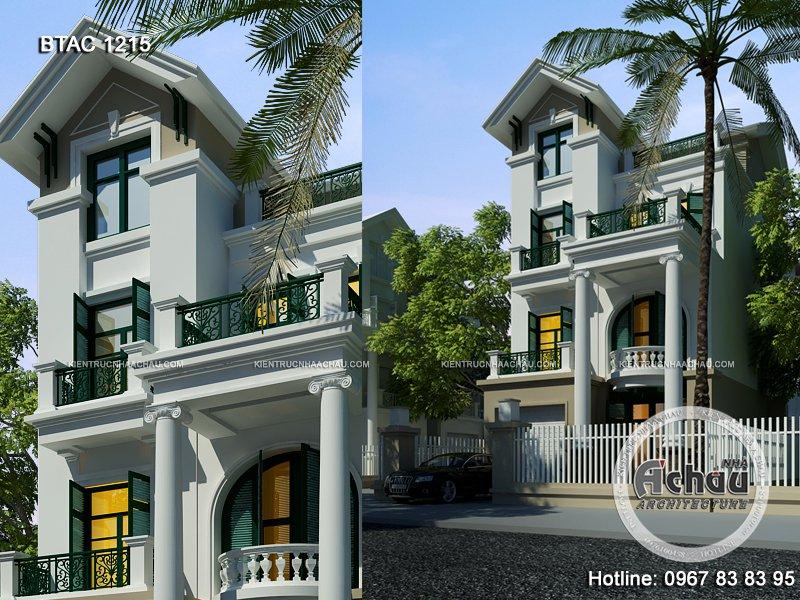 Chiêm ngưỡng tận mắt mẫu nhà tầng đẹp ở Quảng Ngãi – BTAC 1215