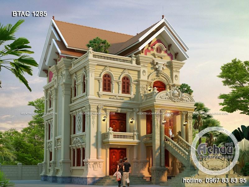 Choáng ngợp với vẻ đẹp của mẫu thiết kế biệt thự tại Hải Dương