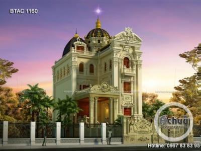 Biệt thự cổ điển sang trọng ở Quảng Ninh - BTAC 1160