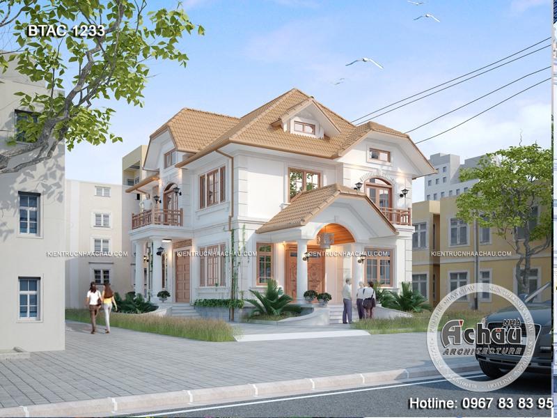 Nhà 2 tầng 3 phòng ngủ ở Thanh Hóa – BTAC 1233