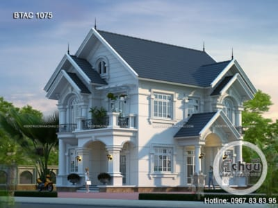 Chiêm ngưỡng nhà 2 tầng 4 phòng ngủ ở Sóc Sơn - BTAC 1075