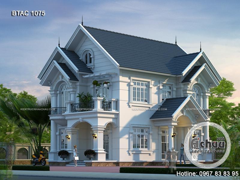 những ngôi nhà đẹp với thiết kế mái Thái