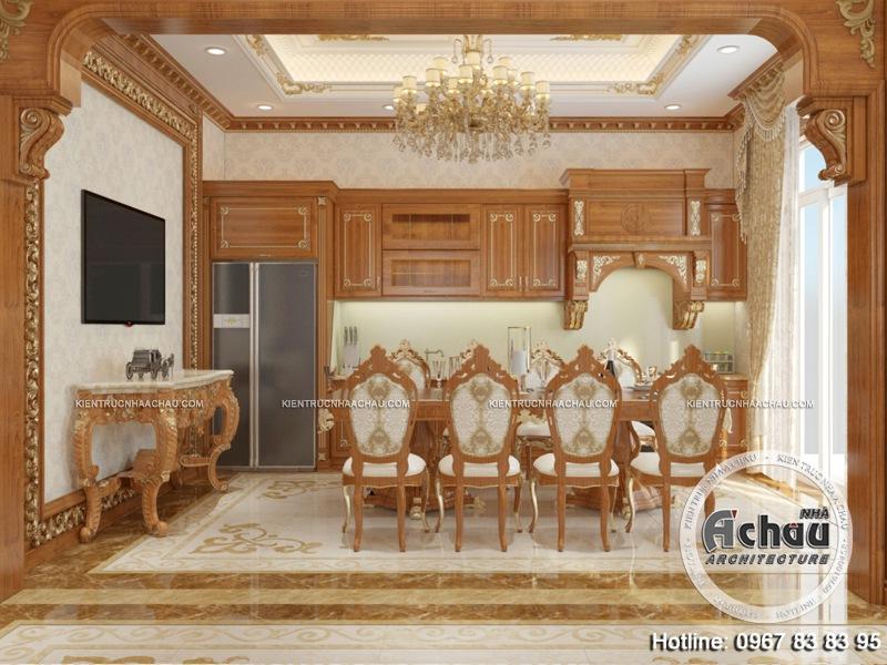 Phòng bếp là một trong những không gian quan trọng để gắn kết mọi thành viên trong gia đình lại với nhau