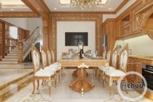 Thiết kế nội thất biệt thự sang trọng, đẳng cấp được ưa chuộng nhất hiện nay
