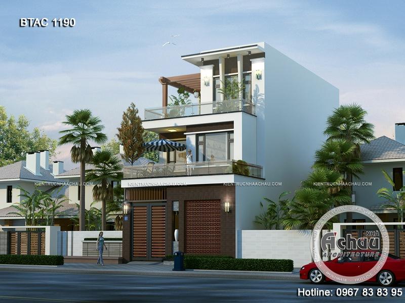 thiết kế nhà phố đẹp 1190