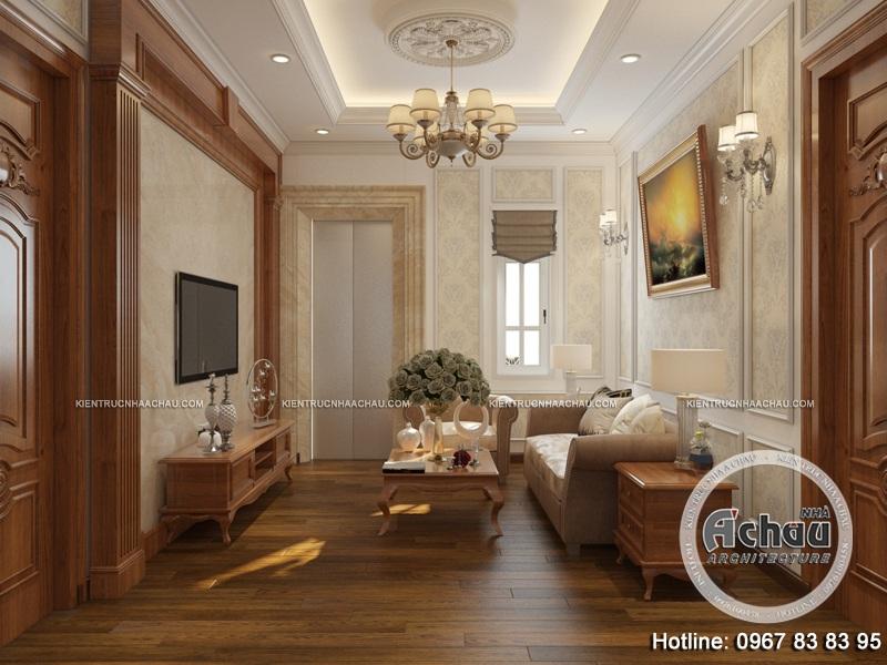 mẫu thiết kế nội thất biệt thự đẹp, thiết kế nội that biệt thự tân cổ điển