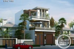 Lưu ý xây nhà phố 3 tầng hiện đại, đẹp và sang trọng - BTAC 1190