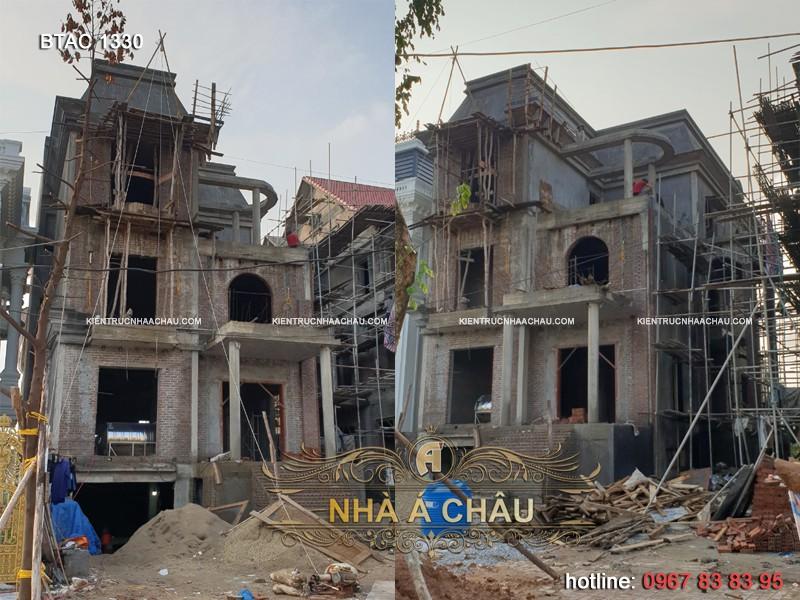 Thiết kế biệt thự tại Quảng Ninh BTAC 1330