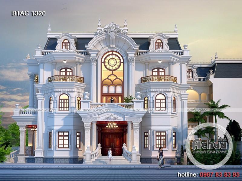 101 Mẫu biệt thự mái Mansard kiến trúc Pháp đẹp mê hồn (P3)